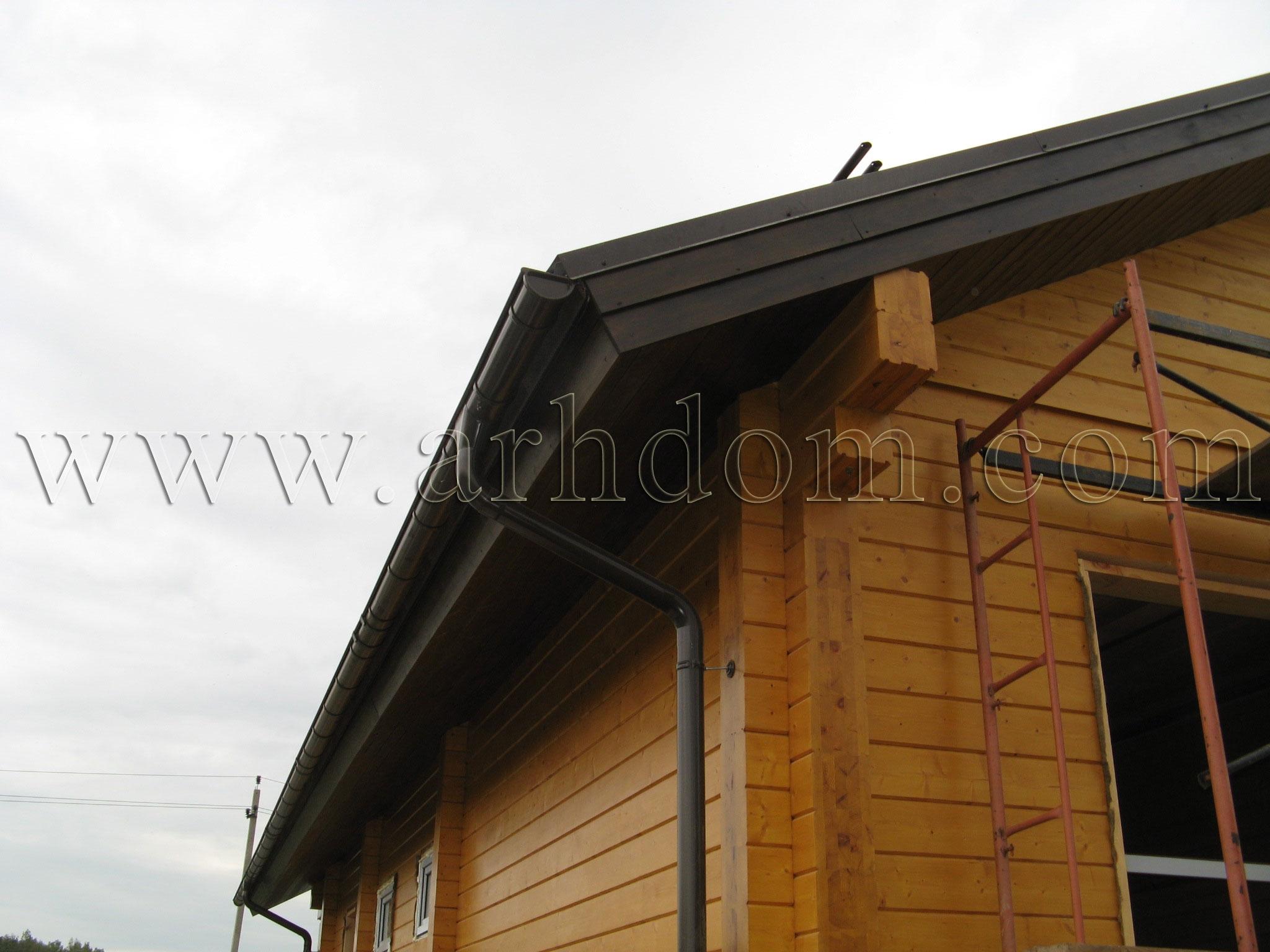 Подшивка карниза крыши своими руками Строительный портал 85
