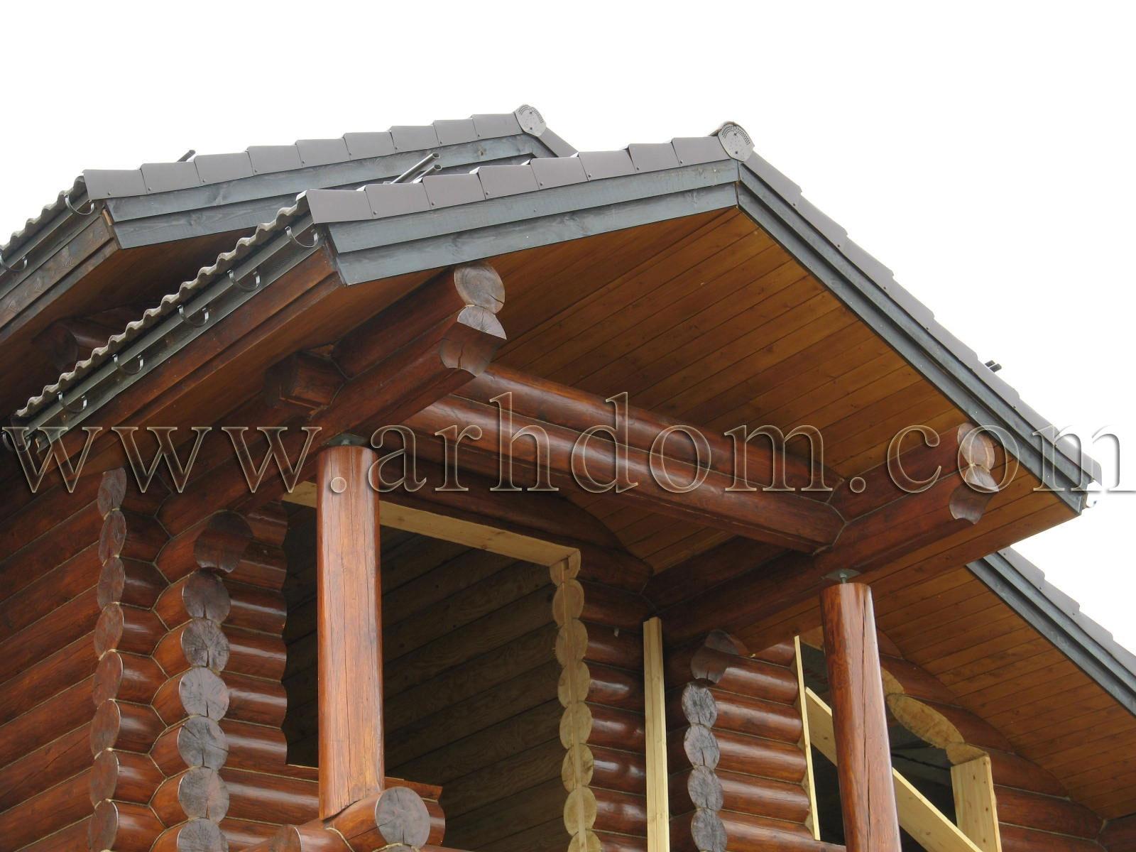 Фронтона как сделать деревянного дома